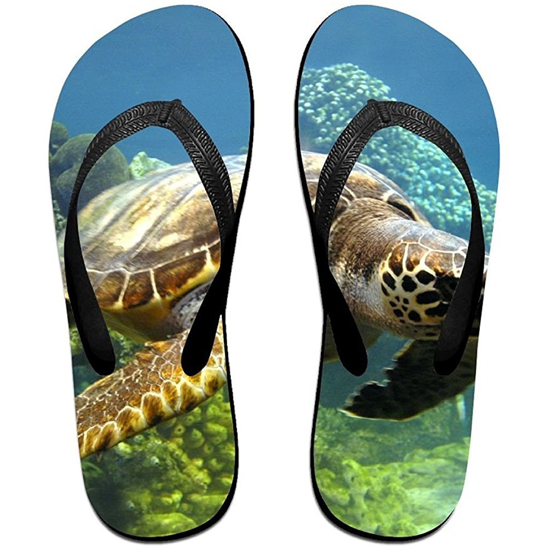 Starmiami Unisex V Flip Flops Turtles Personalized Summer Slipper