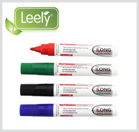 S00109 Thick barrel wipe off easily refillable whiteboard marker L-208