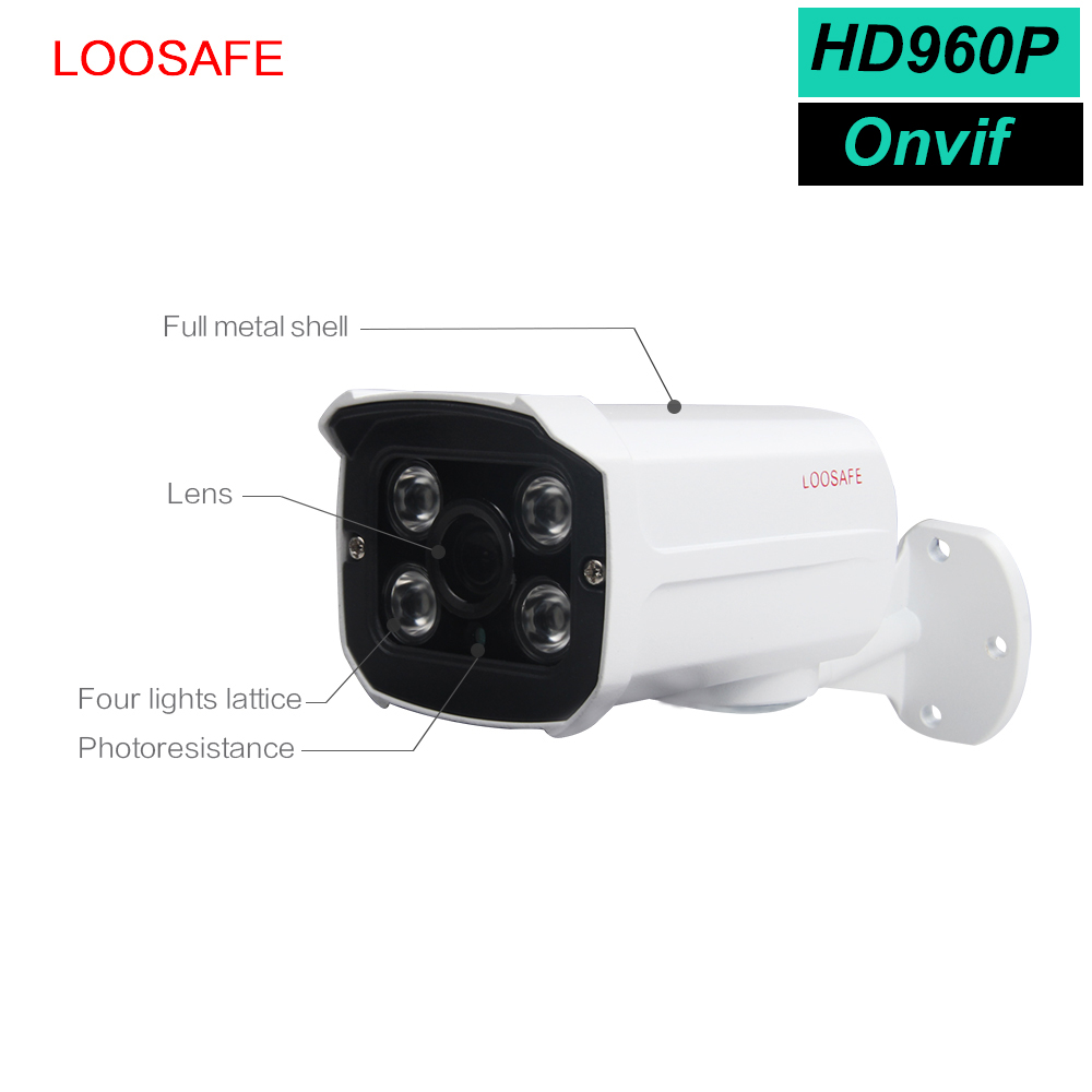 Home security HD 960P outdoor security camera ir onvif p2p ip camera software with night vision