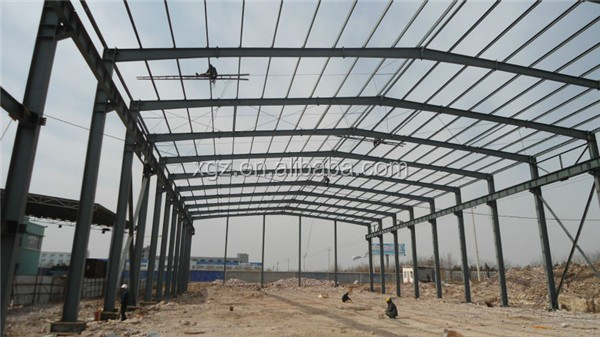 pre engineered removable q345 steel structure steel building