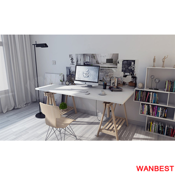 White Marble Top Wood Office Table Furniture Online Desk Luxury Home Product On