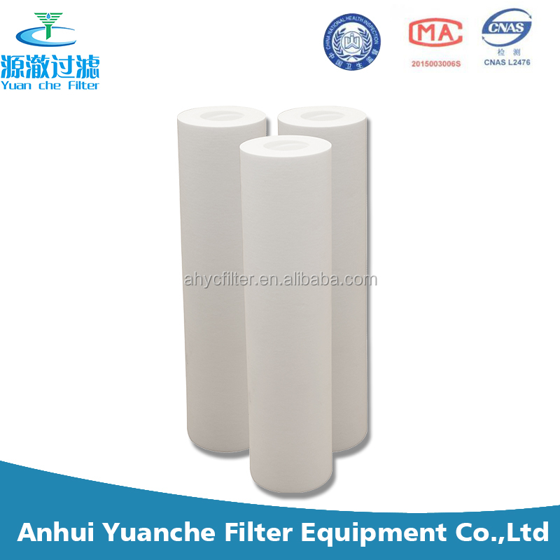 Sediment particles 0.5 micron pp water filter for cleaning POLY-PP