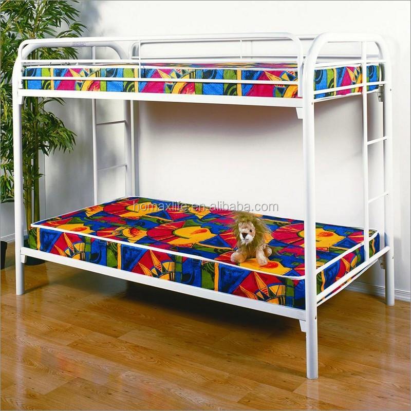 Doble cama litera de metal para ni os muebles de - Cama doble para ninos ...