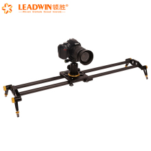 Leadwin top sales 60cm carbon fiber camera slider dolly,photography accessories for video camera and Dslr