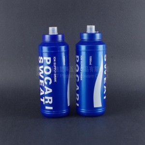 sports water bottle,plastic bottle,1 liter hdpe bottle