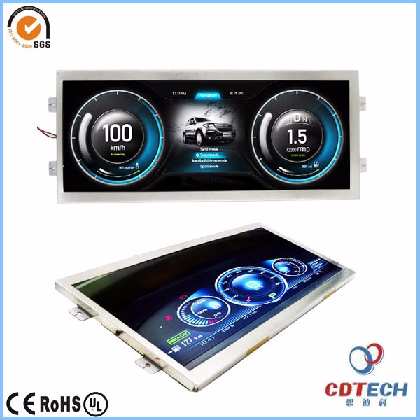12 3 Inch Ultra Bright Tft Lcd Panel With 1920x720 Resolution Ultra Wide  Lcd Panel S123wu01 - Buy 12 3 Inch Tft Lcd Panel,1920x720 Wide Lcd  Panel,12 3