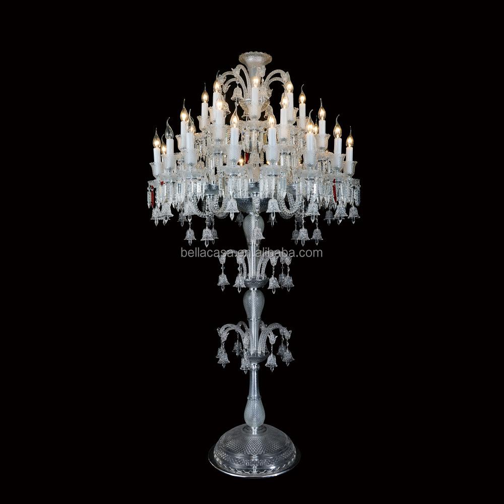 3 layers baccarat crystal chandelier floor lamp buy 3 layers baccarat crystal chandelier floor lampcrystal chandelier stairs lampcrystal floor