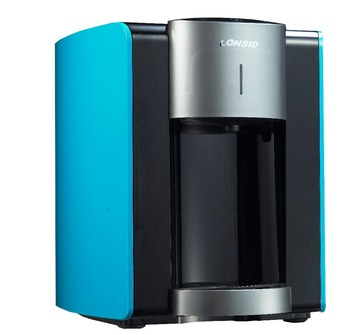 Hot U0026 Cold Mini Tabletop Pipeline Water Dispenser With Fridge Cabinet