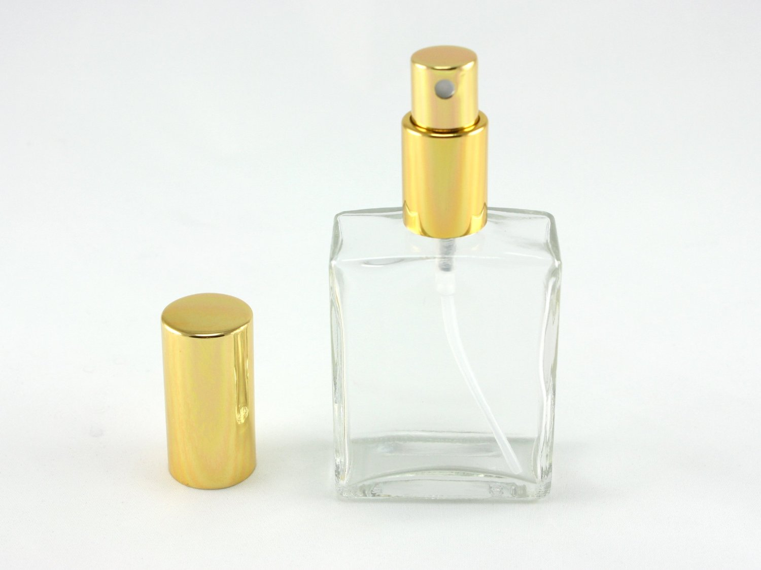 a4f55a1f7190 Get Quotations · Skyway Refillable Travel Size 2 OZ Perfume Fragrance  Bottle TSA Approved Pump Atomizer Spray Perfect for