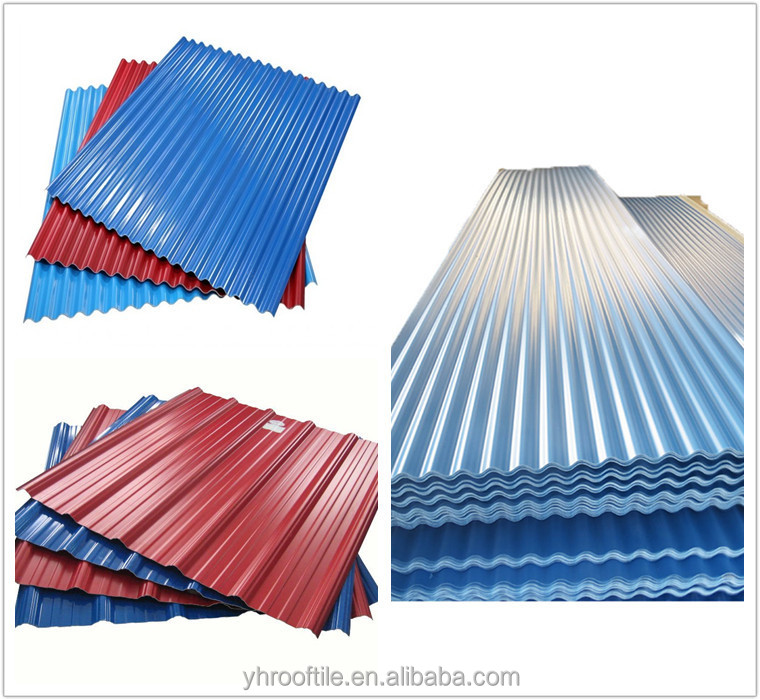 Rigid recycled roof tile corrugated pvc plastic sheet for for Flexible roofing material
