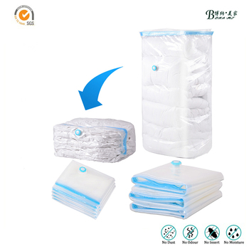 Best Quality Vacuum Compression Bags For Storing Clothes Cube Bag