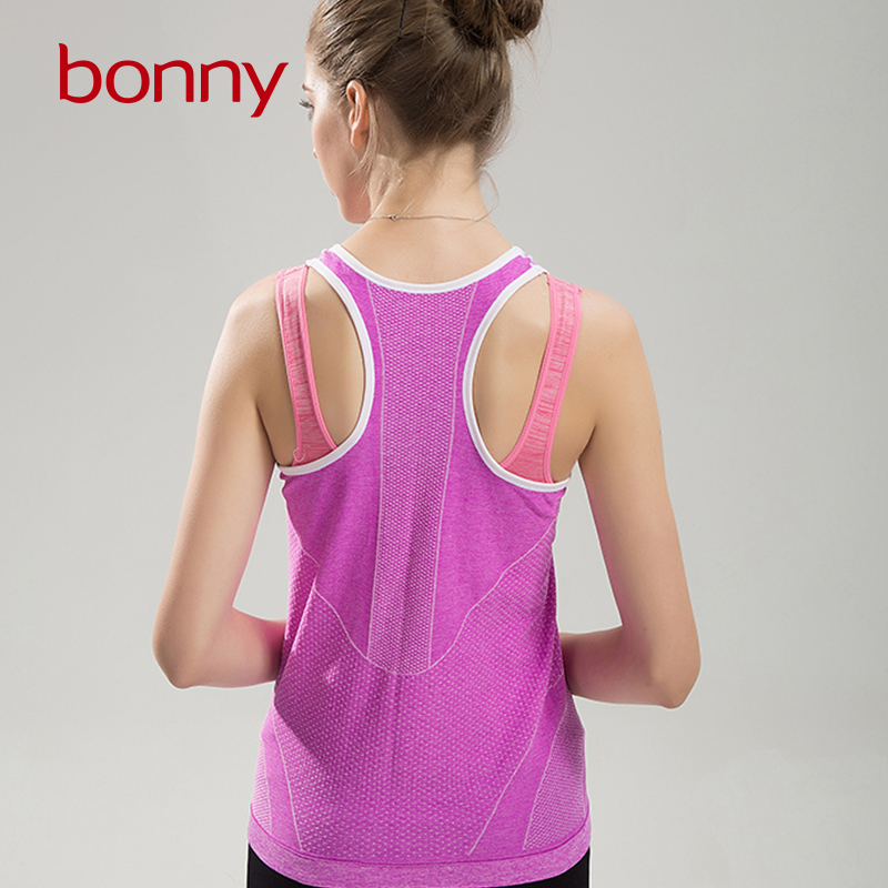 Best Selling Young Girls Fashion Activewear Outdoor Gym Training Sleeve T Shirt Ladies Sports Wear Women Sexy Fitness Tank Top