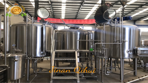 2500L beer factory equipment from beer brewing supplies