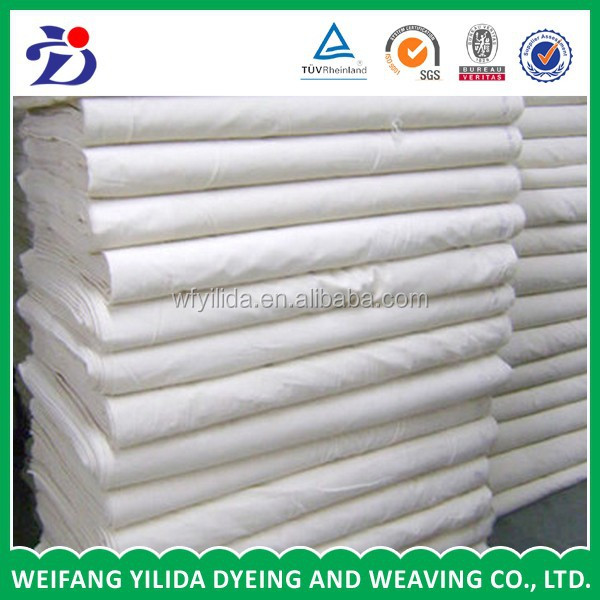 "polyester/cotton fabric plain grey fabric t/c 65/35 45*45 96*72 47"" 63"""