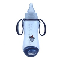 High Quality Handle Sippy Cup BPA Free Silicone Nipple Baby Bottle
