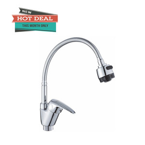 GK 20 stainless steel 304 hot water sink bow mixing/mixer kitchen faucet brass water tap design manufacturer