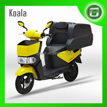 UGBEST Koala yellow delivery electric scooter for food delivery , usage cost is much lower than gasoline scooter