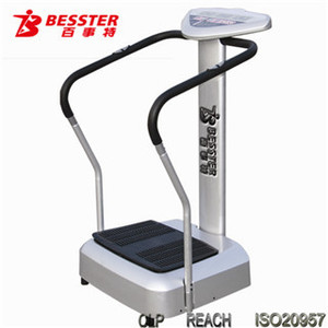[NEW JS-065] Hot-selling crazy fit massage high power vibration plate machine exerciser