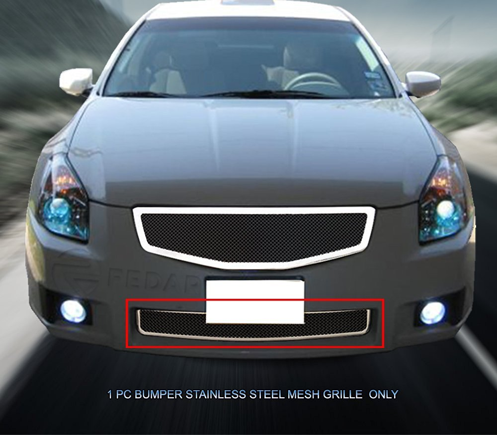 Fedar Lower Bumper Wire Mesh Grille for 2007-2008 Nissan Maxima