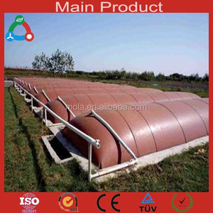 Domestic PVC Soft Portable Food Waste Biogas Digester
