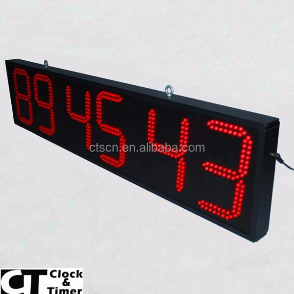 8 Inch Outdoor Sport Event Countdown Timer Stopwatch Large Led ...