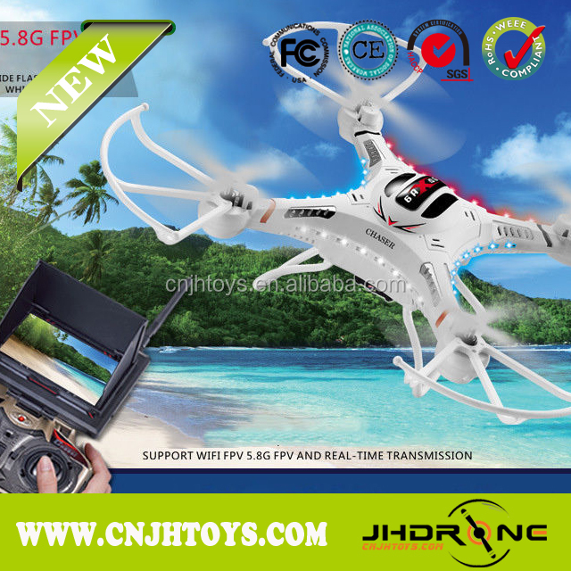 DFD F183D Hot Sell RC FPV Drone 5.8G HD Camera RC Quadcopter With LCD DFD F183D