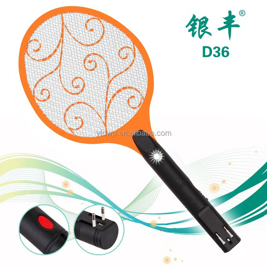 D36 hot export good quality mosquito racket mosquito killing