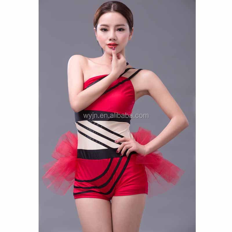 Nuevo único-Las niñas baile jazz traje nuevo elegante de las niñas traje de  danza 8f157be387d