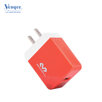 Veaqee high quality fast charging travel 5 Usb ports multi Usb ports portable charger for Apple Samsung smart phone