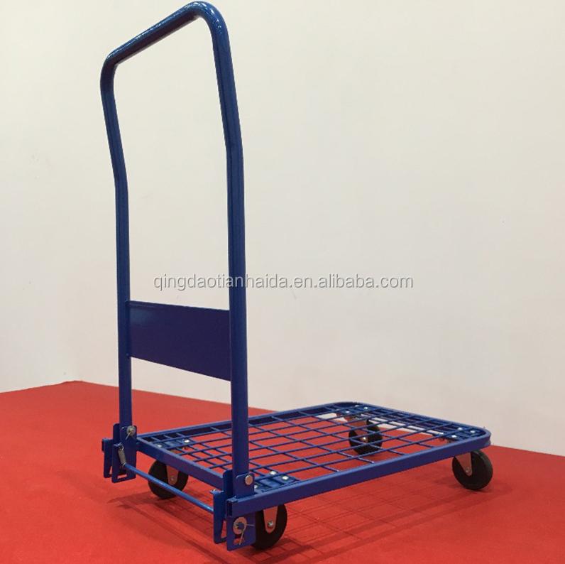 Nouveau GRAND PANIER démarrage pliante chariot cage heavy duty 35 kg capacité