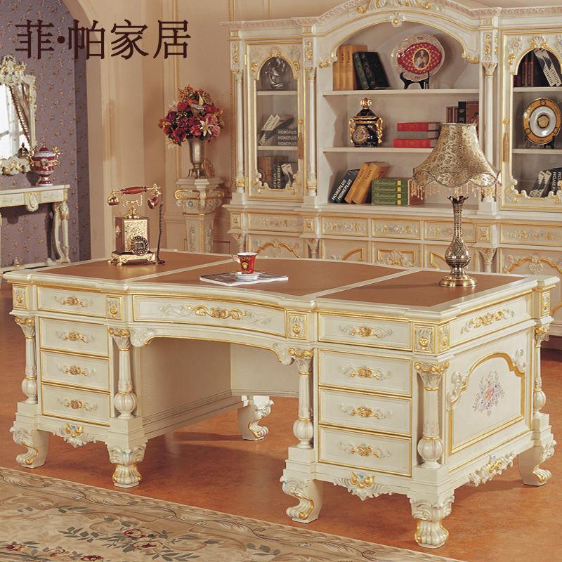Classic escritorio ejecutivo muebles de oficina en casa for Muebles de oficina en casa