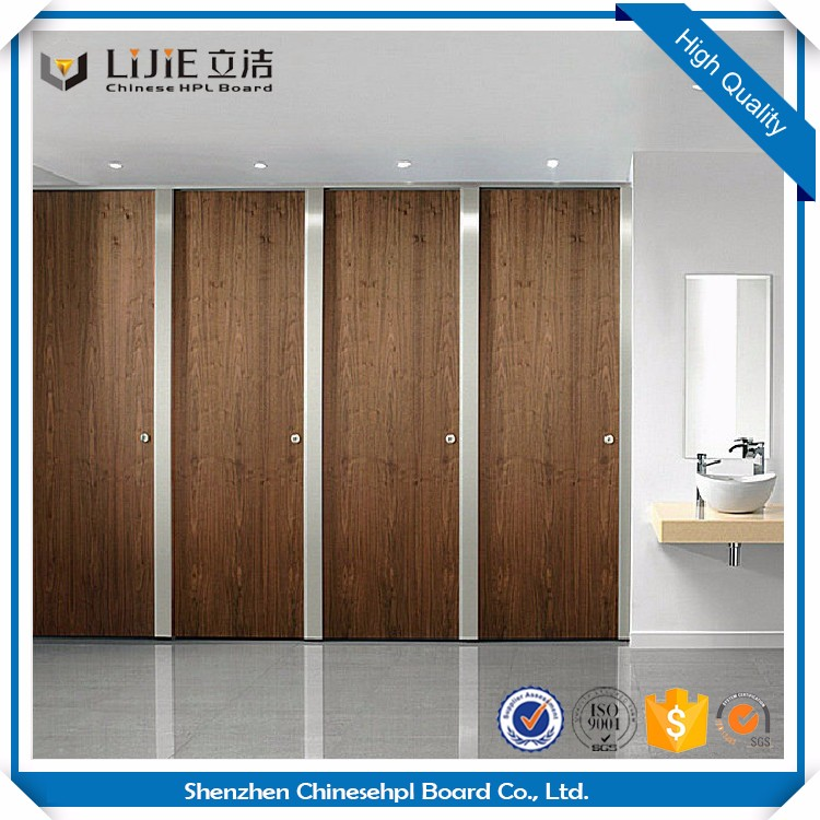 Lijie Hpl Decorative Panel Cheap Toilet Partitions/ Toilet Door With Hover Board Material/Toilet Cubicle Partition