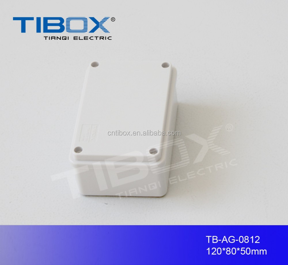 TIBOX hot sale high quality Waterproofrca audio switch Terminal box 80X120X50mm