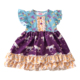 New arrival children clothes summer girls frock design kids fashion dresses from yiwu puresun