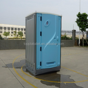 Portable HDPE toilet with integrated sink and water tank