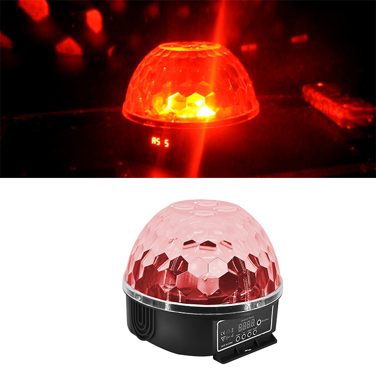 Home Party Disco Effect Light 50W LED RGBW Red Laser Beam Bar Magic Ball Light