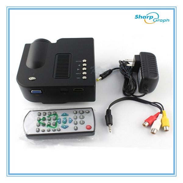 Unic cheap full hd 3d mini led 320x240 portable multimedia for Cheap mini portable projector