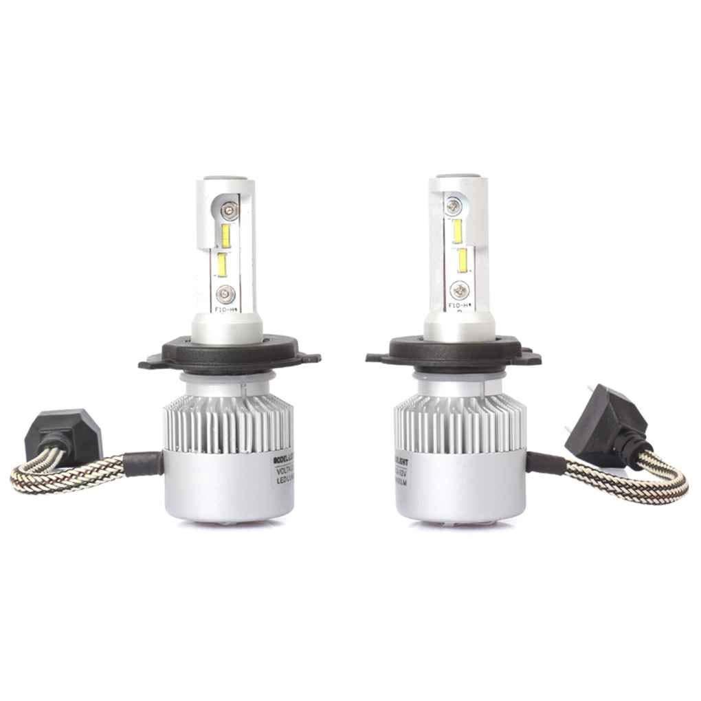 Xuanhemen 2Pcs 36W S2-TX Car IP67 Waterproof Headlight LED Bulbs Lamps Light 6500K for H4/H7/H11/9005/9006 Headlight Bulb Replacement