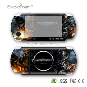 Factory Supply CE Certified games skin sticker For Sony PSP 3000 cover sticker