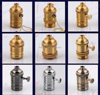 Black/silver Vintage Edison Style Light Bulb Electric Light Copper ...