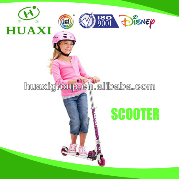 kids scooter with flashing wheels