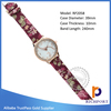 Low price dress watch ,printing watch,Customized Exporter PU Leather watches