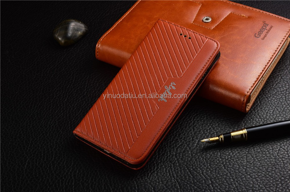 Newest OEM ODM Leather Phone Case Cover for iphone 7 Case