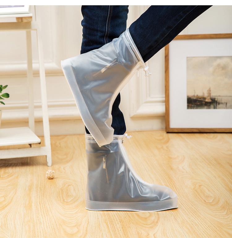 Sıcak Satış Amazon Toptan Yeniden Kullanılabilir PVC Bisiklet Açık Ayakkabı Yağmurluk Su Geçirmez Ayakkabı Kapağı