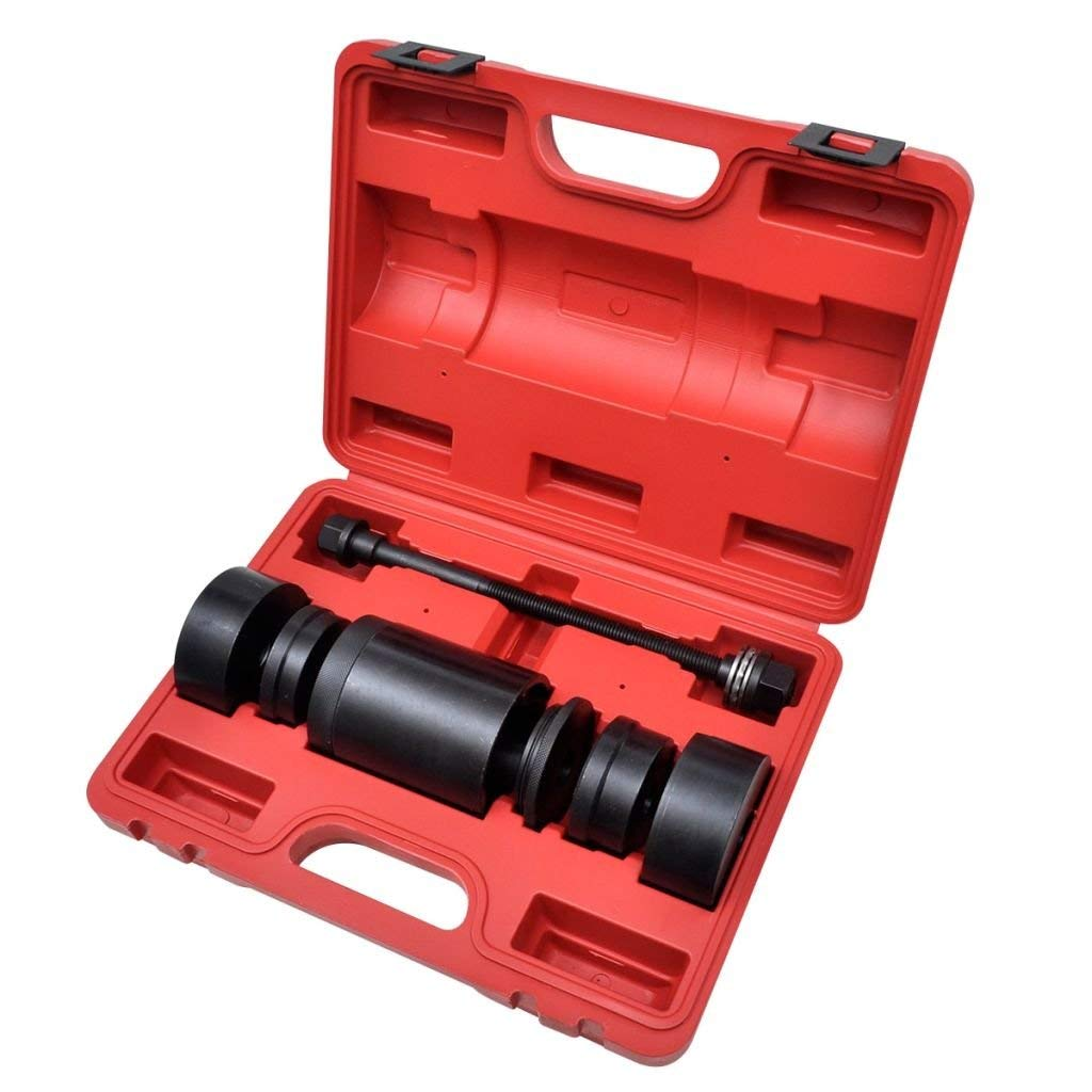 Subframe Bushing Installer/Remover Tool Set Benz W220 W211 W203 Bushing Tool The fine thread and thrust bearing allow the bushing to be fitted quickly without hassle