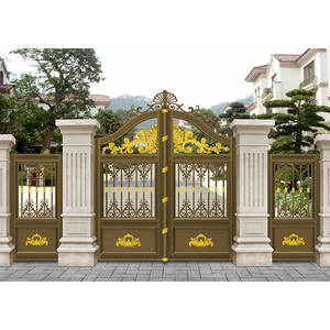 2018 newest garden arch door exterior steel doors