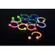 16G 1.2mm Stainless steel colorful Captive Lip Rings Horseshoes Lip Ring