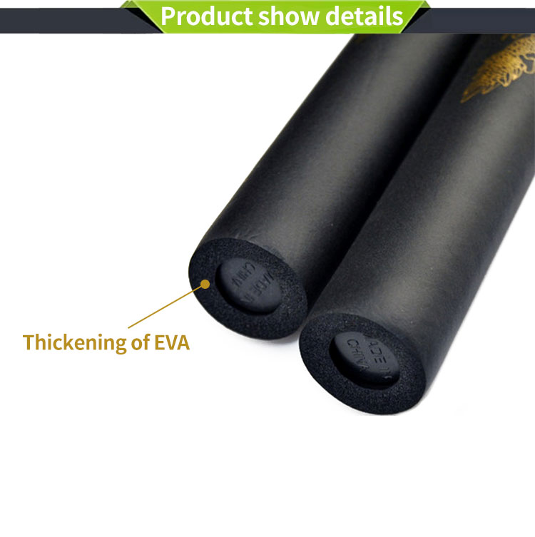 China Manufacturer Custom Dragon EVA Foam Nunchakus with Stainless Steel Chain Martial Arts Weapons Kungfu Nunchucks