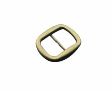 Top quality customized metal 35mm brass color belt buckle clasp