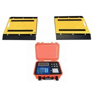 Quality Guaranteed weightg portable scales rental single or double axles dynamic axle weighing scale